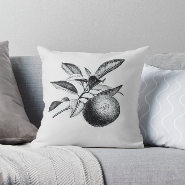 TJs Apple Throw Pillow