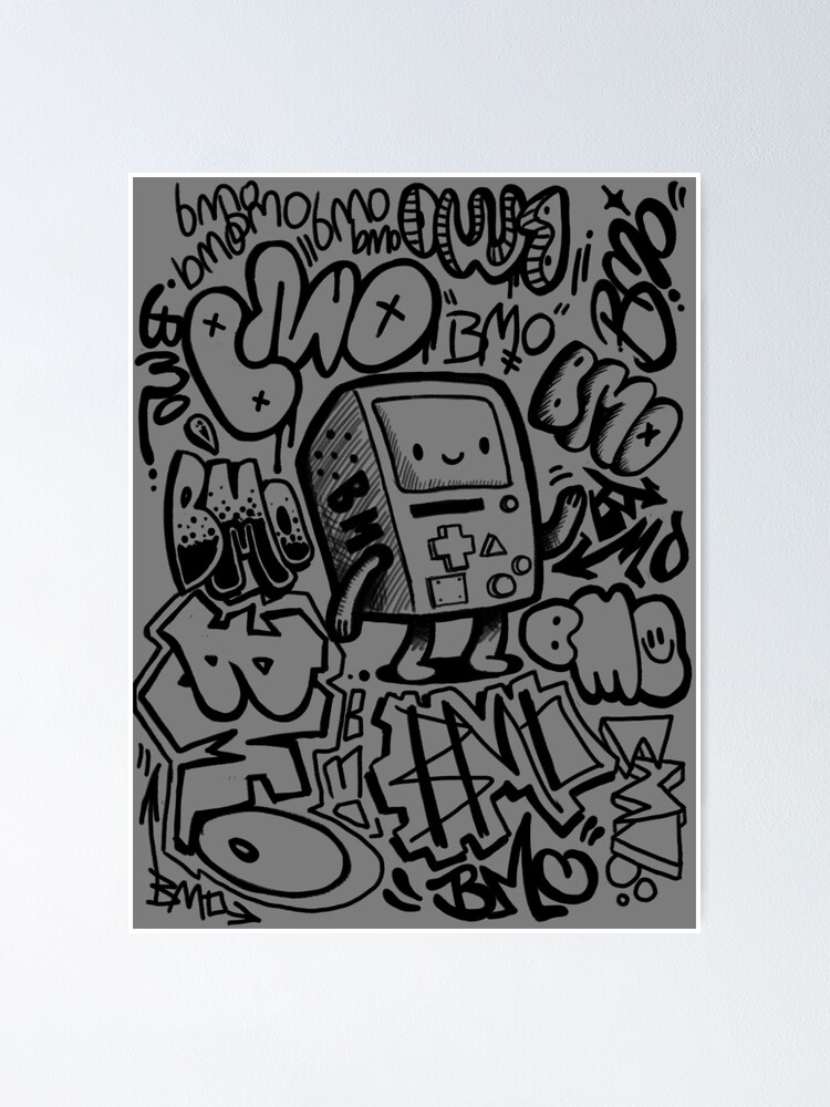 Alternate view of BMO GRAFFITI Poster