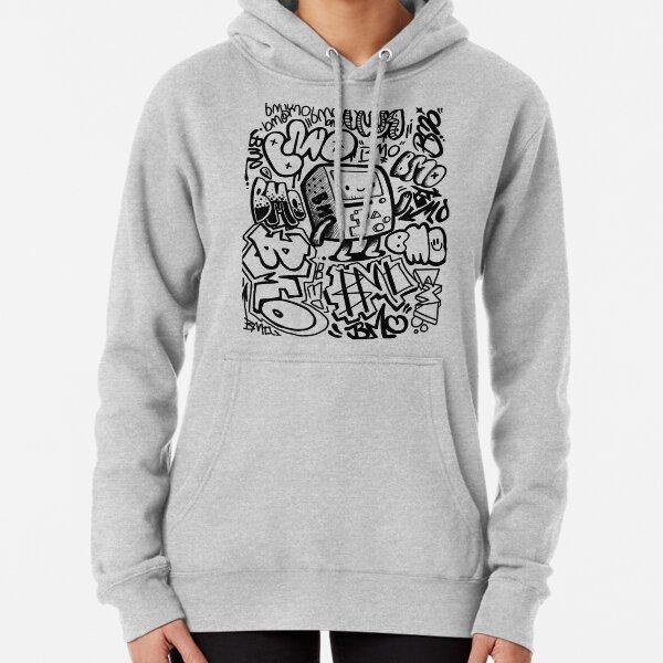 BMO GRAFFITI Pullover Hoodie