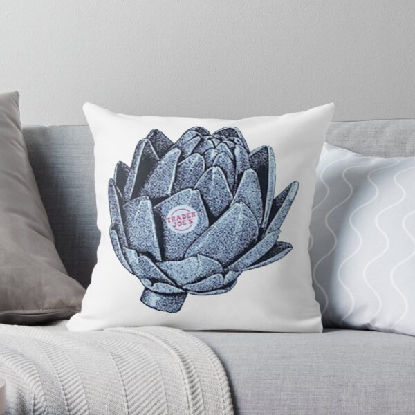 TJs Vintage Artichoke Throw Pillow