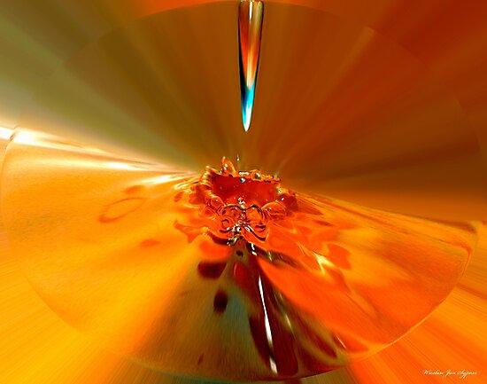 water drop 001  by Wieslaw Jan Syposz