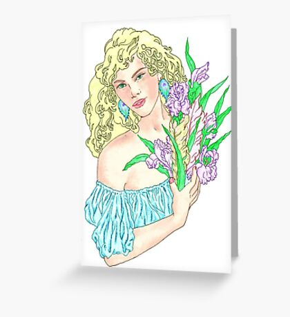Colourful Summer Song Greeting Card