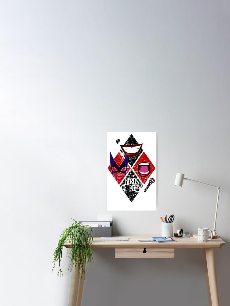 Birds Of Prey Diamond Design Poster By Rackhamgreg Redbubble