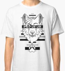 POPUFUR -grey- Classic T-Shirt