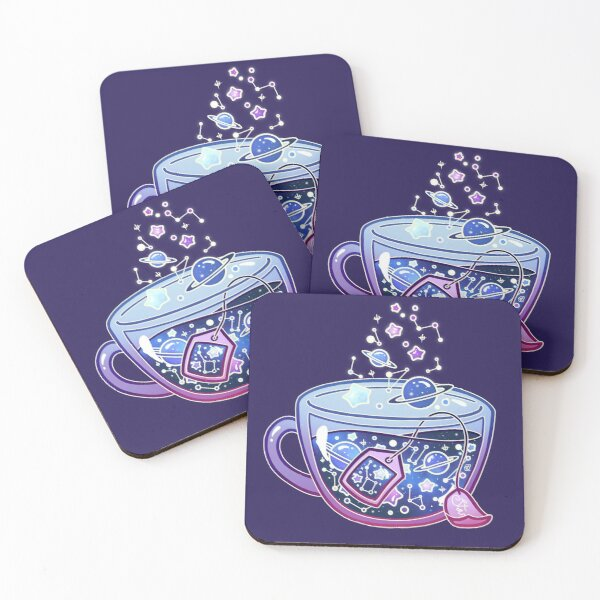 Galaxy Tea Coasters (Set of 4)