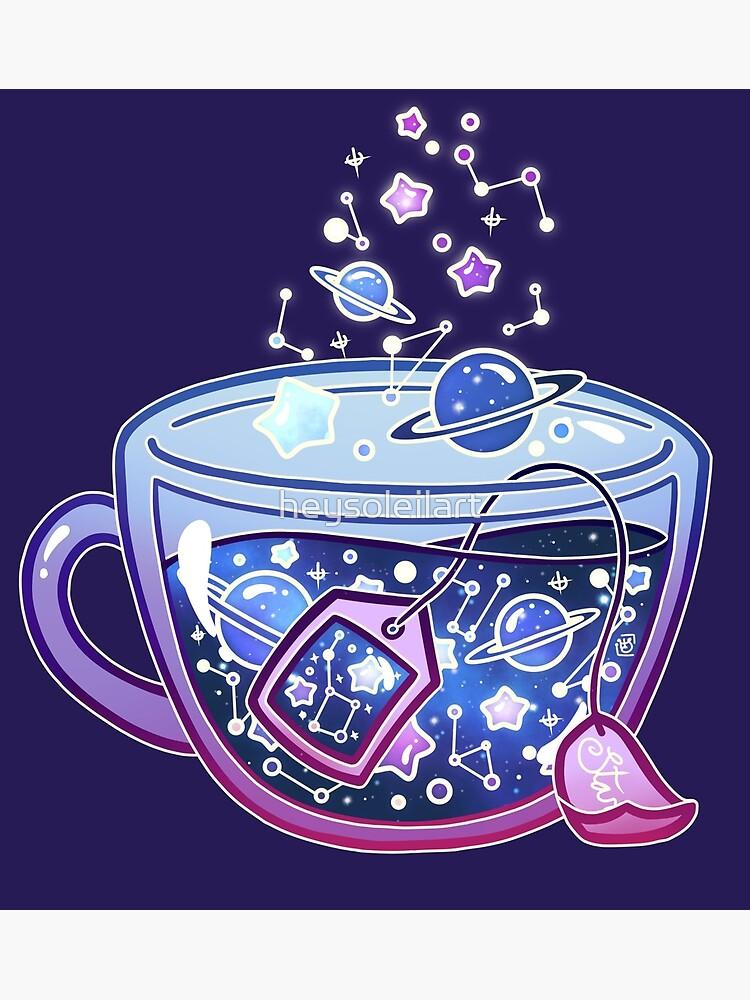 Galaxy Tea by heysoleilart