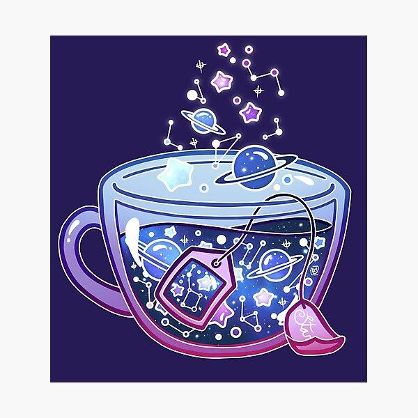 Galaxy Tea Photographic Print