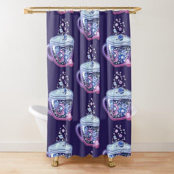 Galaxy Tea Shower Curtain