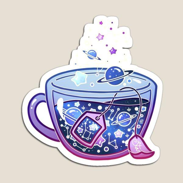 Galaxy Tea Magnet