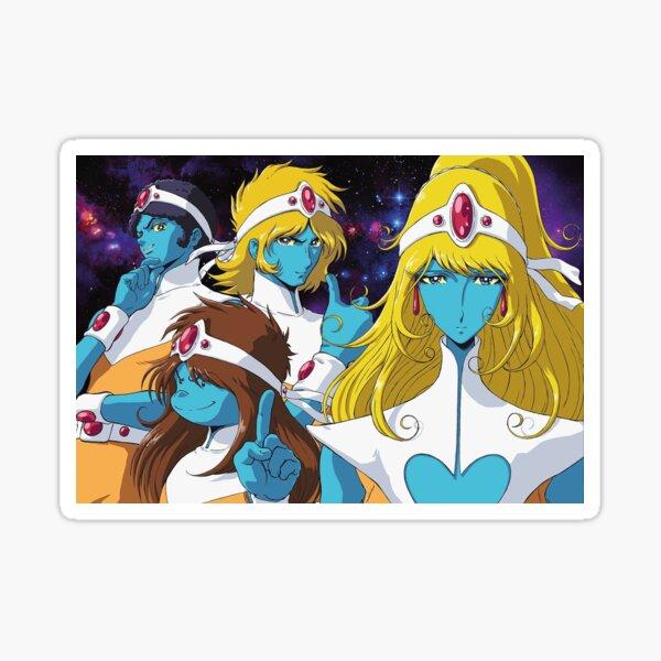 Interstella 5555 Sticker