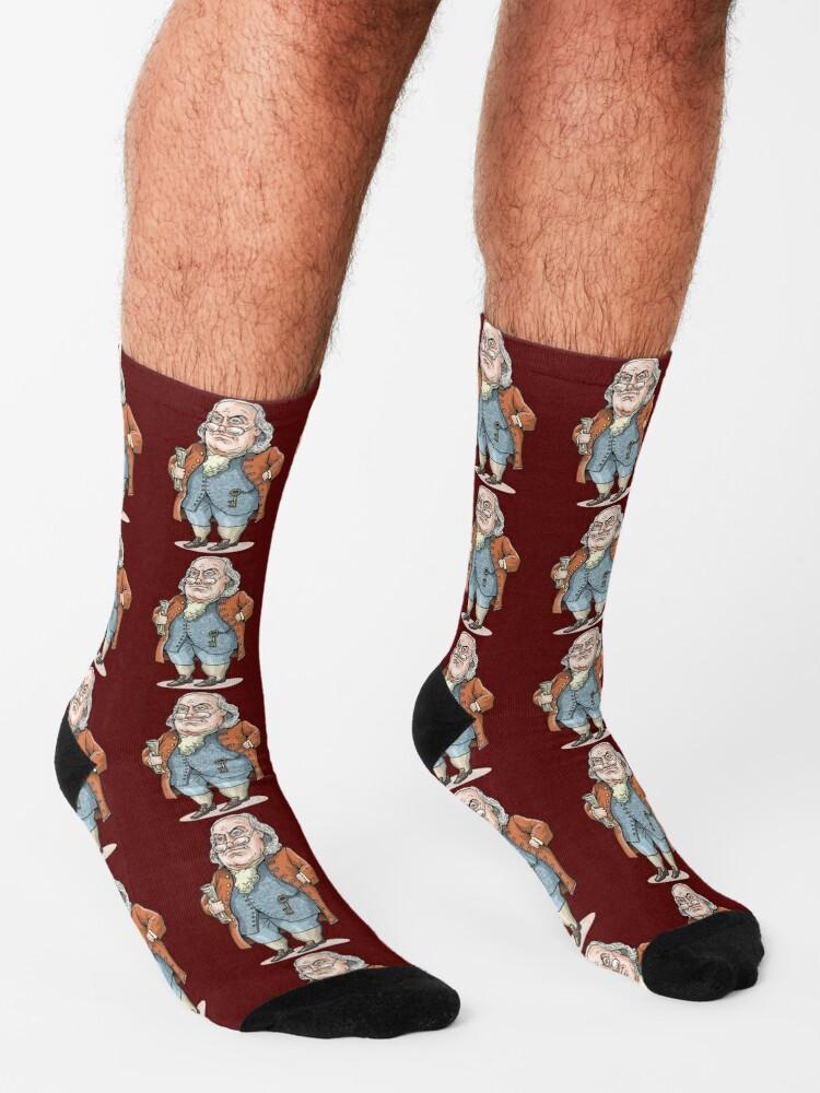 Alternate view of Benjamin Franklin Socks