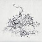 cupcake tree by Andrew Kilgower