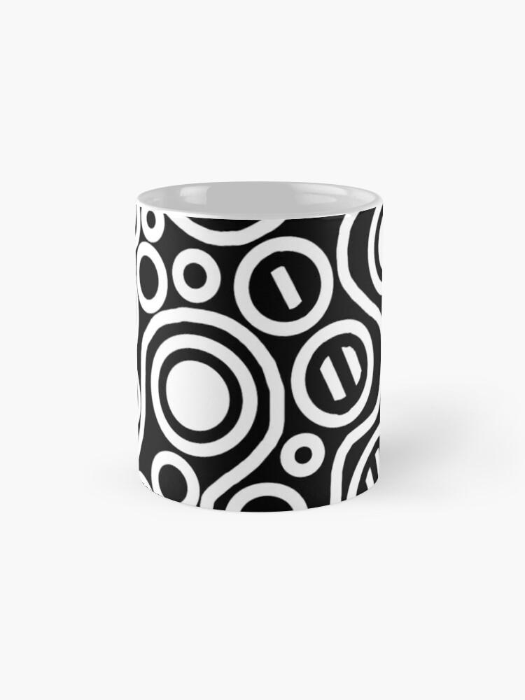 Alternate view of bLacK&wHitEciRCLes Mug
