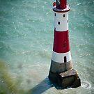 Beachy Head Lighthouse - Sussex, UK. by DonDavisUK