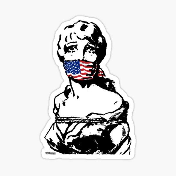 Freedom Of Speech USA Sticker