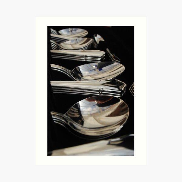 The good cutlery Art Print