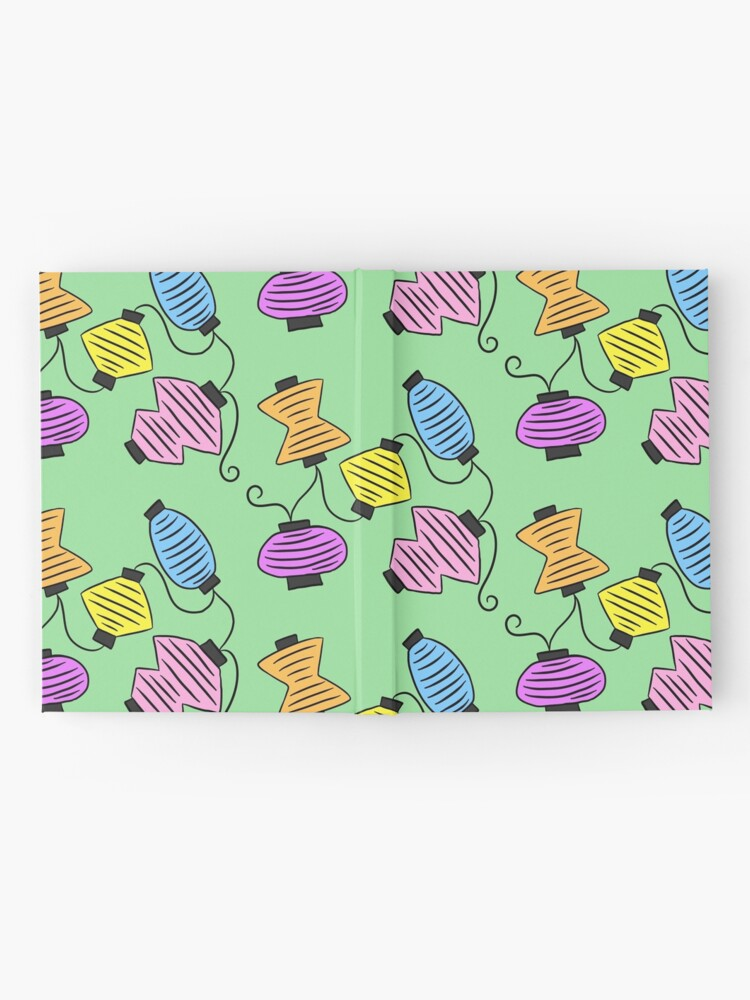 Alternate view of Party Lanterns Hardcover Journal