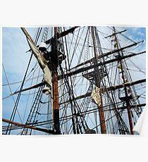 Radiant Rigging - Sailing Ships Poster