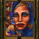 Vision in Blue by Alga Washington