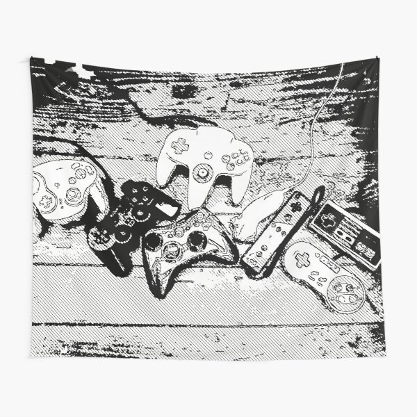 Collection de manettes - Joysticks collection Tapestry