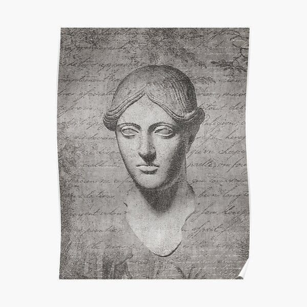ANCIENT / Head of a Woman Poster