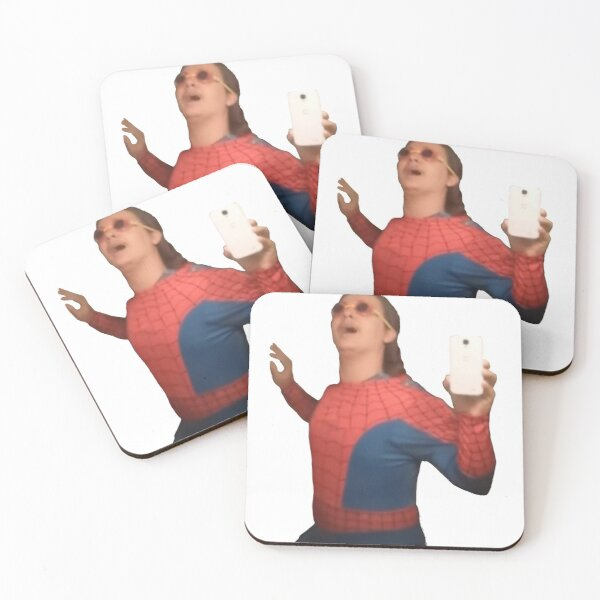 It's Wednesday My Dudes Coasters (Set of 4)