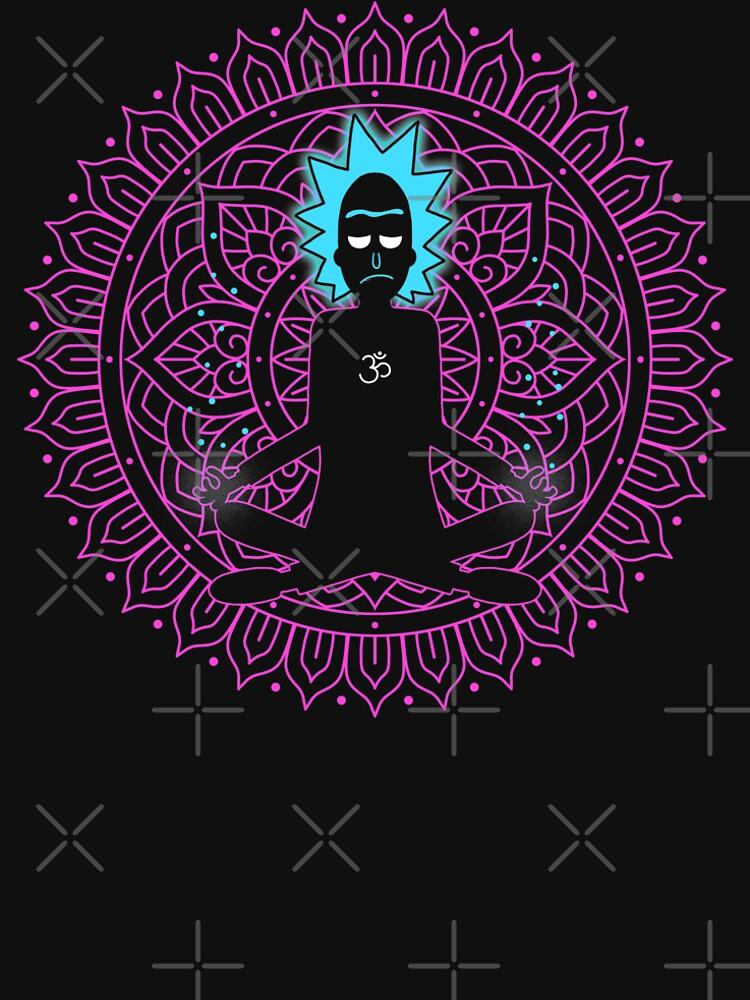 Rick Sanchez Holy Scientist by GODZILLARGE