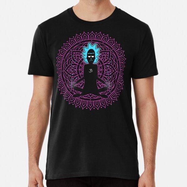 Rick Sanchez Holy Scientist Premium T-Shirt