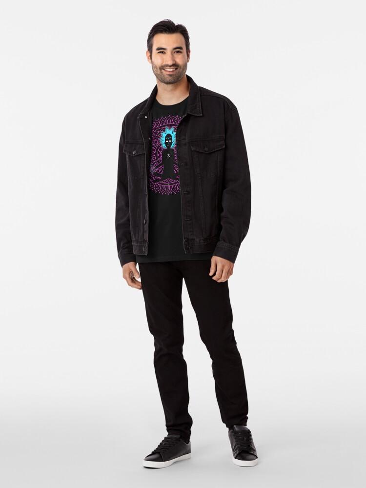Alternate view of Rick Sanchez Holy Scientist Premium T-Shirt