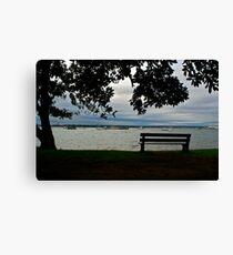 Bench View Canvas Print