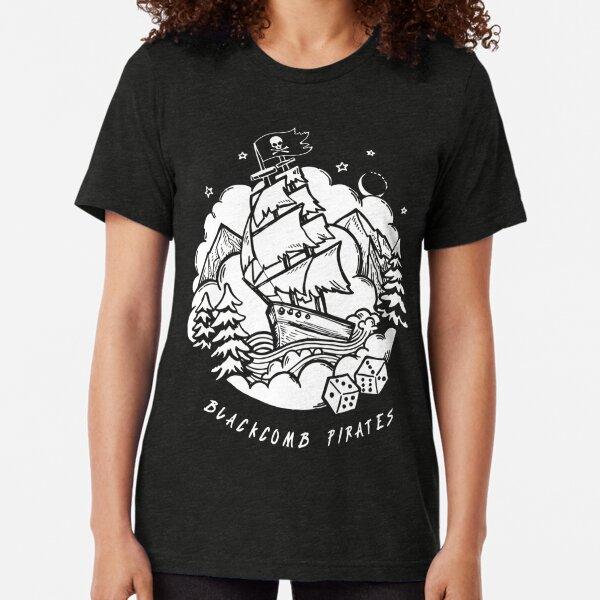 Backcomb Pirates Ship Tri-blend T-Shirt