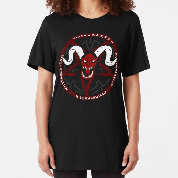 Mustakrakish Slim Fit T-Shirt