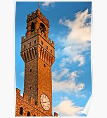Tower of the Comune di Firenze Poster