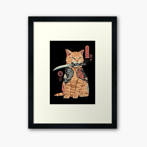 Catana Framed Art Print