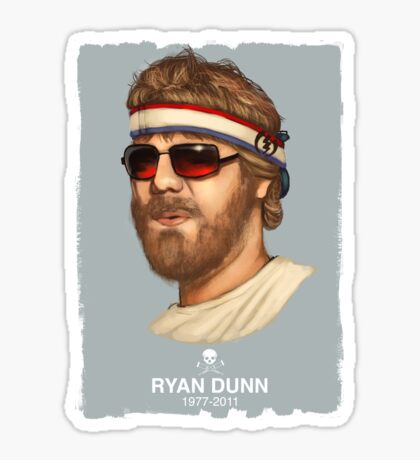 RIP RYAN DUNN Sticker