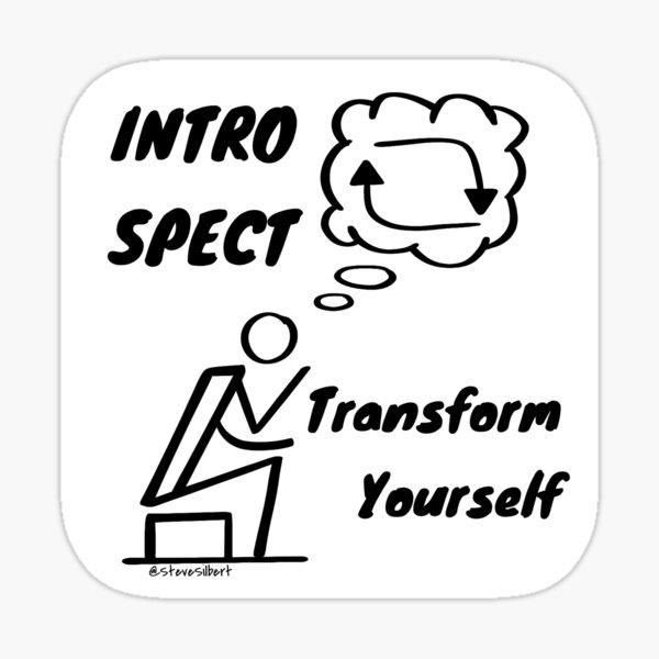 Transform Yourself Sticker