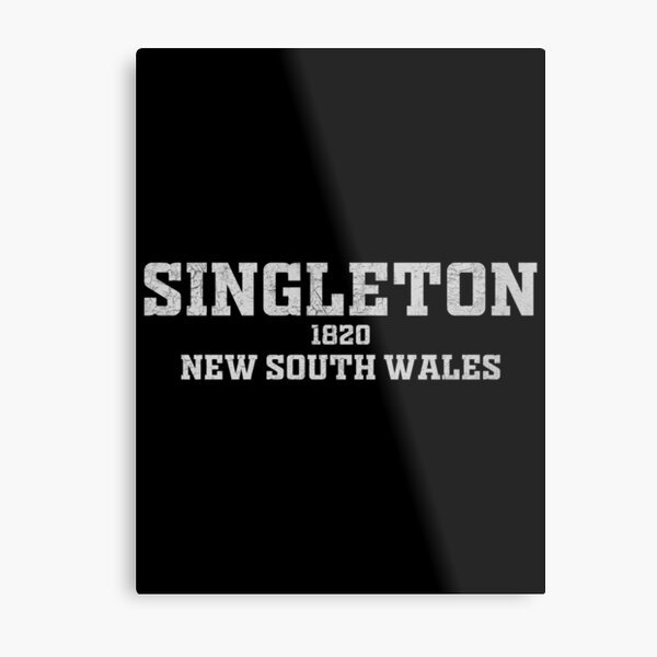 Singleton New South Wales Metal Print