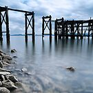 Aberdour Pier  by Claire Tennant
