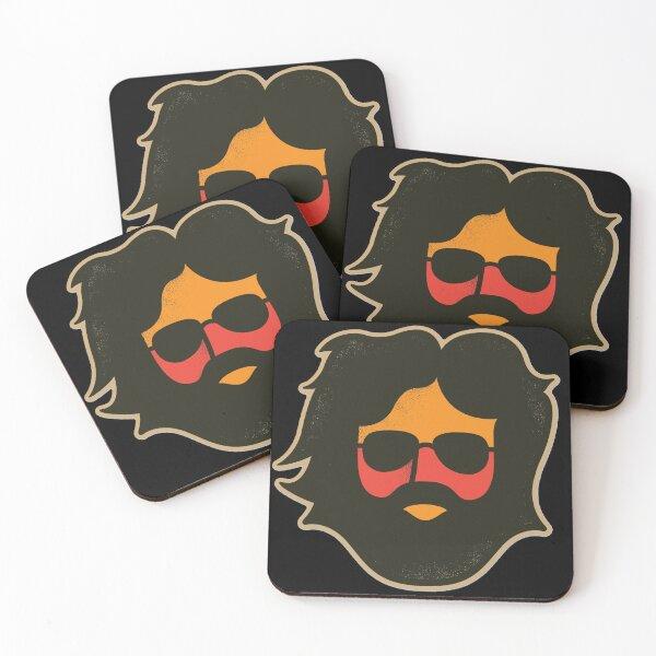 JG Jerry Garcia Coasters (Set of 4)