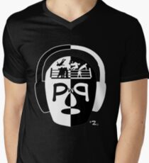 Lucha On The Brain Hollywood Edition Men's V-Neck T-Shirt