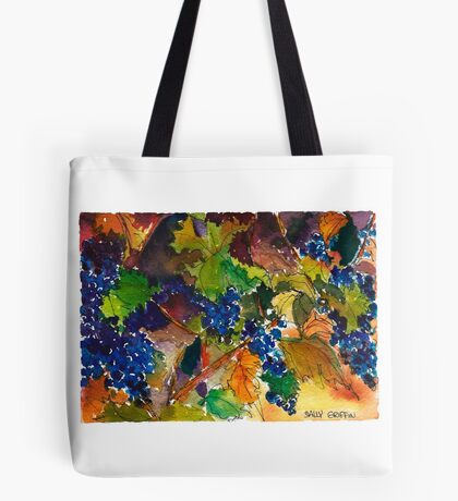 Vineyard Color Tote Bag