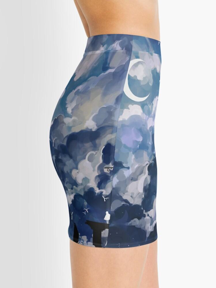Alternate view of the sky-wanderer. Mini Skirt