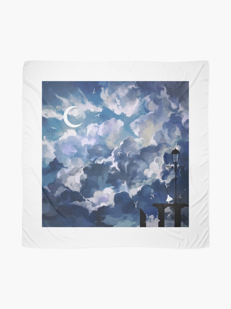 Alternate view of the sky-wanderer. Scarf