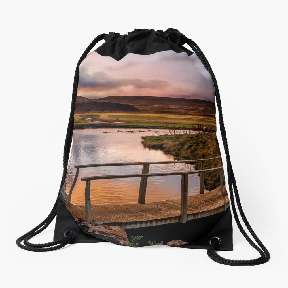 Parallel Marvel Drawstring Bag