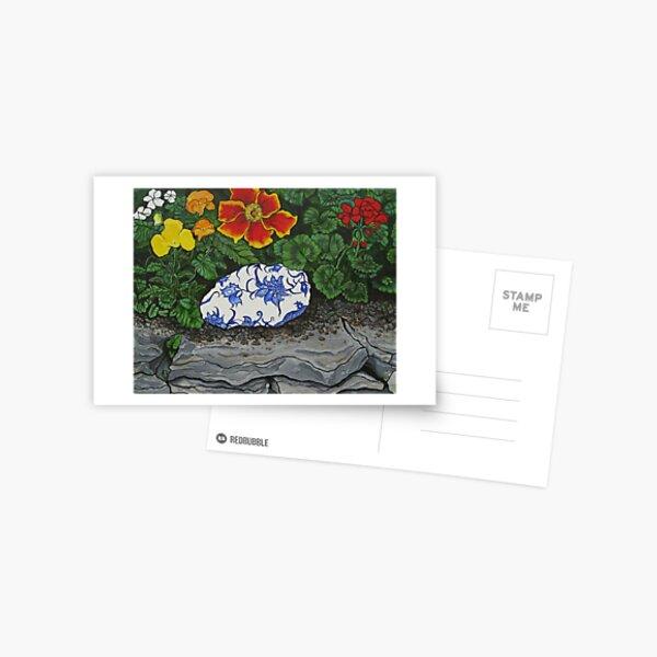 Anna's Garden Egg Postcard