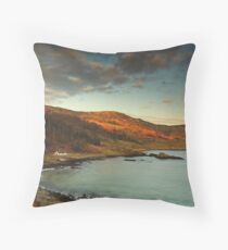 Murlough Bay, N.Ireland. Throw Pillow