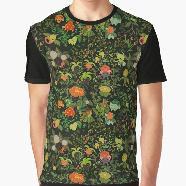 Forest Creatures Graphic T-Shirt