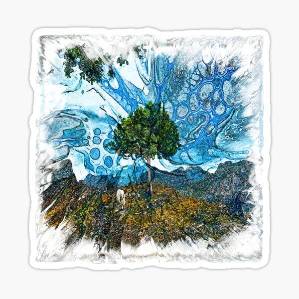 The Atlas of Dreams - Color Plate 195 Sticker