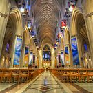 Inside National Cathedral by -CO-