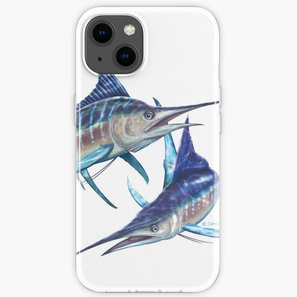 Striped Marlin iPhone Soft Case